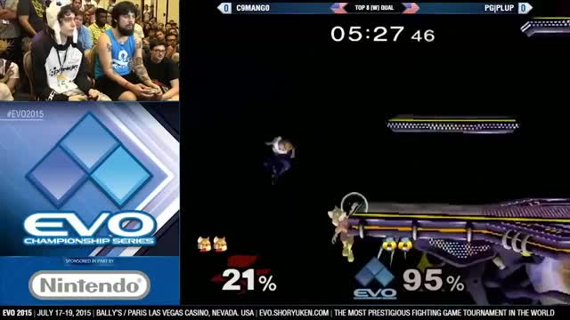 Mango catches plup