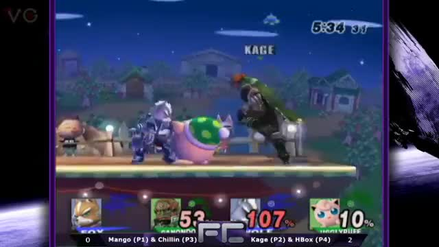 [FC-PM doubles] Mango salty after a doubles loss to Hbox and Kage.