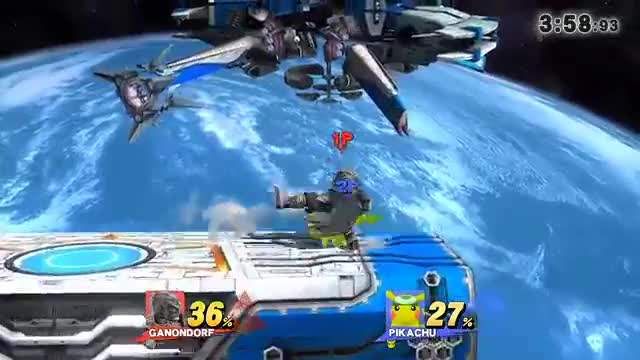 Really Cool Pikachu combo… followed by the coolest Ganon read of all time