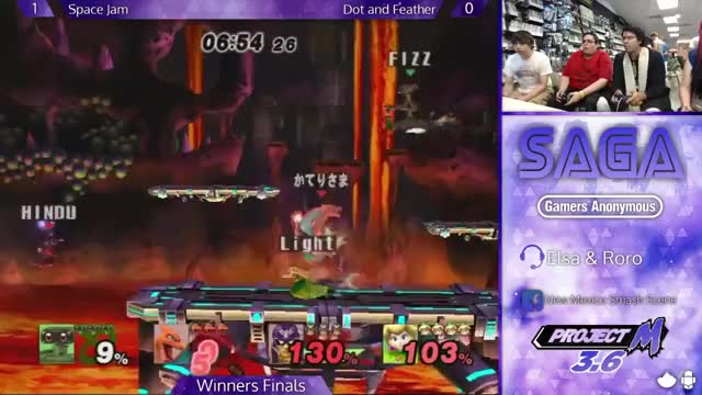 A bair in the hand is worth two in the… air? | FizzKhalifa lands a double kill at SAGA