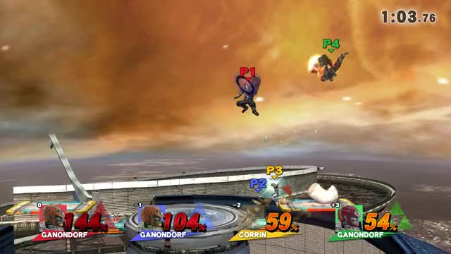 Can someone explain how Ganondorf was able to bend the rules here and create a new untechable situation?
