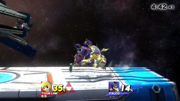 Smash 4 Tether Physics are silly.