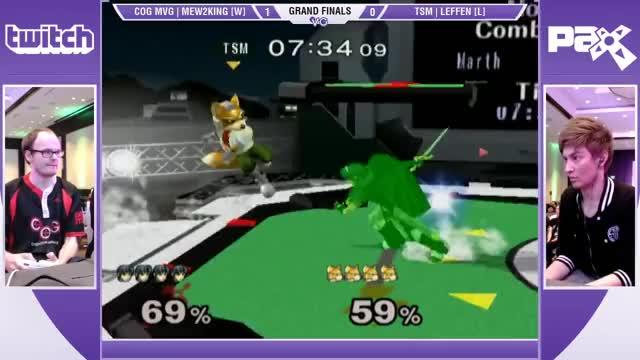 M2K with the revenge Ken combo against Leffen