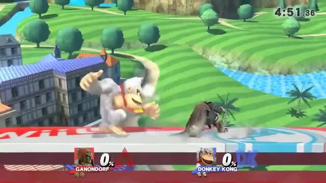 Ganon's weak hit dash attack is pretty good