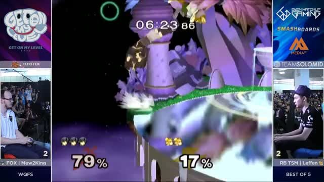 Leffen using ledge invincibility to beat marth's counter