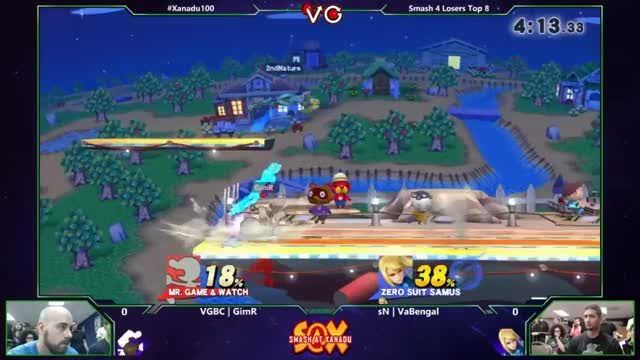 [GIF] VaBengal with a Sick ZSS Set Up on GIMR