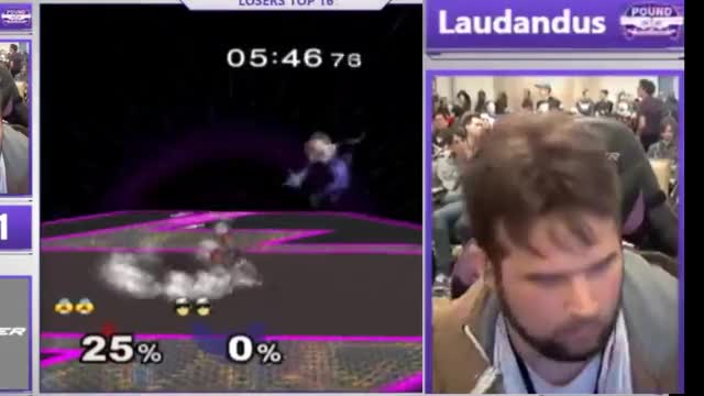 Laudandus plays an unwinnable matchup