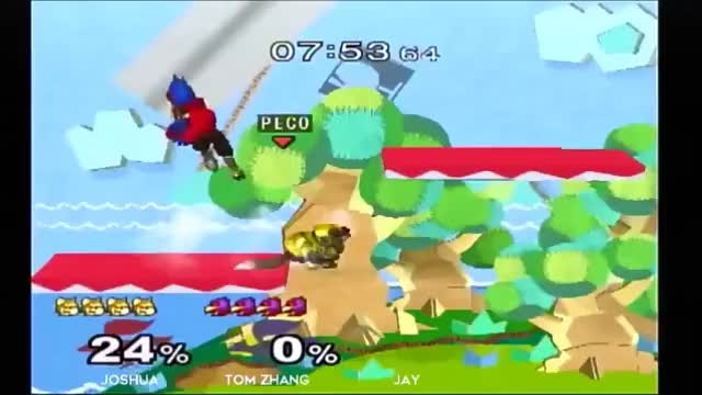 Fox vs. Falco in a nutshell V2