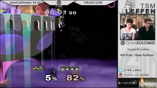 Leffen – One of the best Marth combo ever