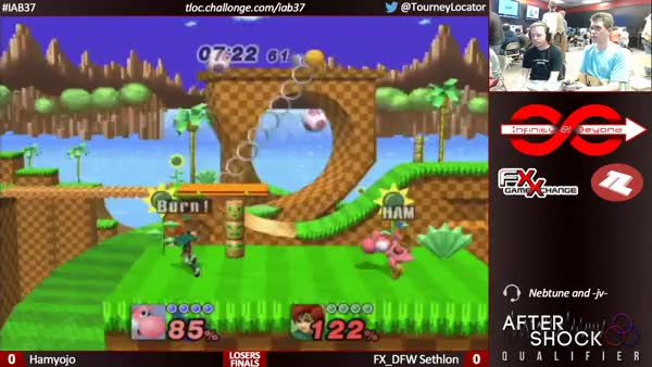 Sethlon physically hurts me with a PM Ken combo