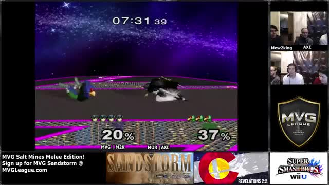 Mew2King with an INSANE Marth combo