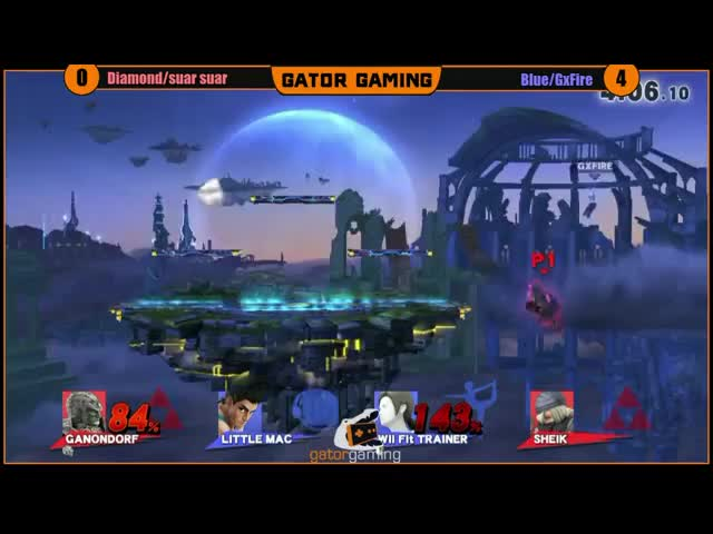 Only Smash Bros makes people pop-off for an amateur exhibition match