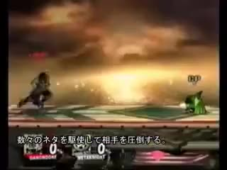 Japanese demonstrating Ganondorf technology with Uair jab resets… IN 2009