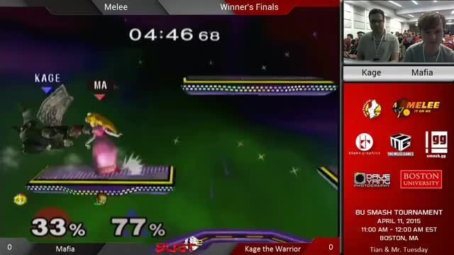 Kage: Cute downsmash, Peach