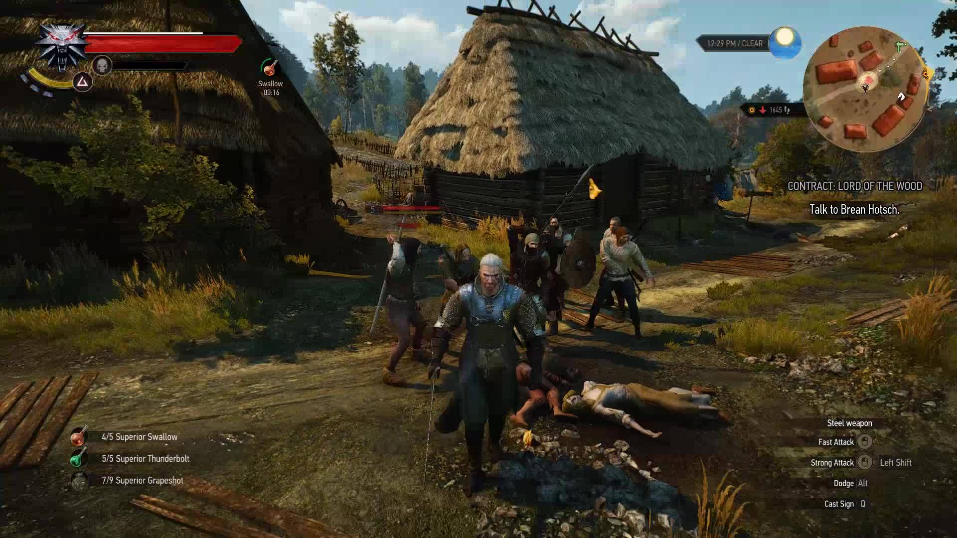 Writers for hire witcher 3 person in distress