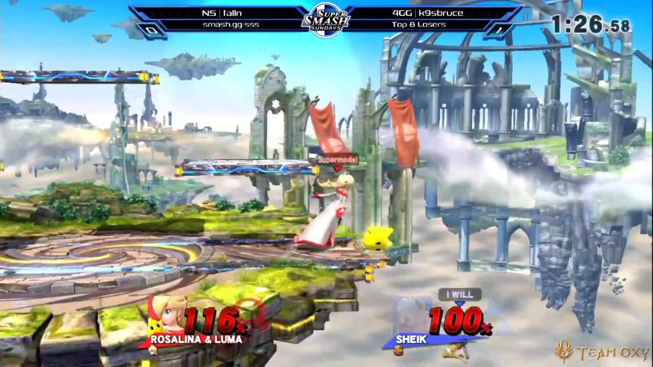 Super smash bros 4 rosalina and luma