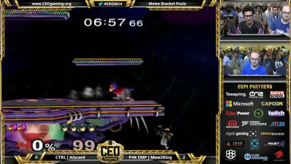 Spending time near the ledge with M2K's Marth