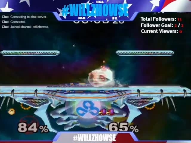 Smooth waveland to start the combo