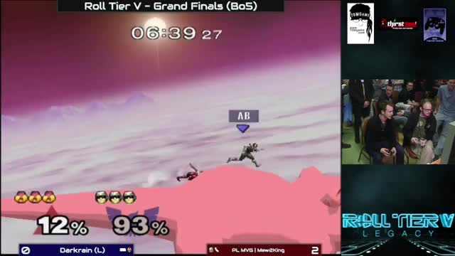 M2K vs Darkrain Melee Grand Finals on Poke Floats – Roll Tier V