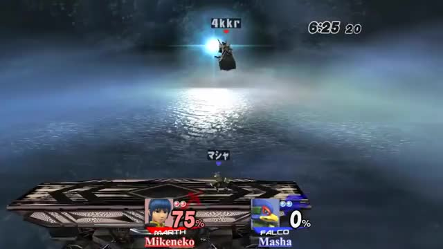 [GIF] Mikeneko showing why he's the best Marth in the world