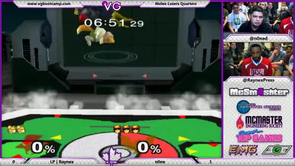 n0ne lands a soul-crushing 0-to-death with Falcon. RIP Raynex.