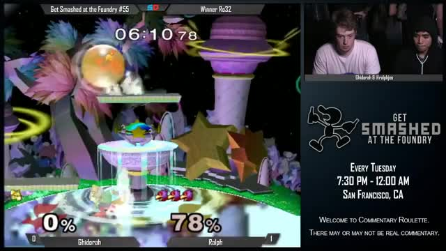 One of the dirtiest Falco combos I've ever seen.