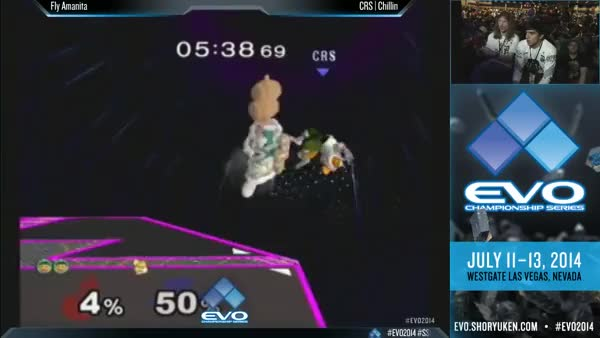 Fly Amanita with a huge punish on Chillin