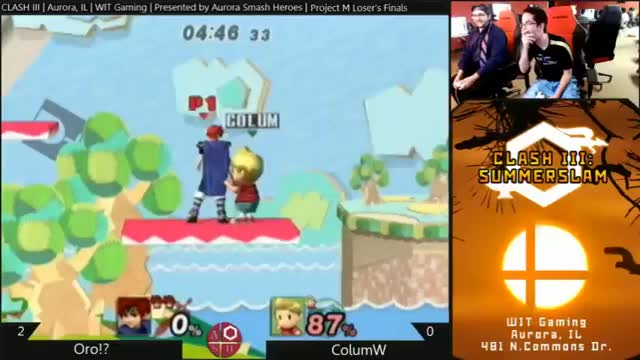 I tried to cheese ORO?! in bracket yesterday.
