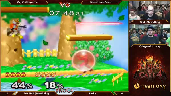 Lucky is impressed by M2K's dashdance grab