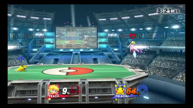 Pikachu's weird hurtbox