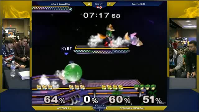 [Marth] IB's edge cancel combo in doubles