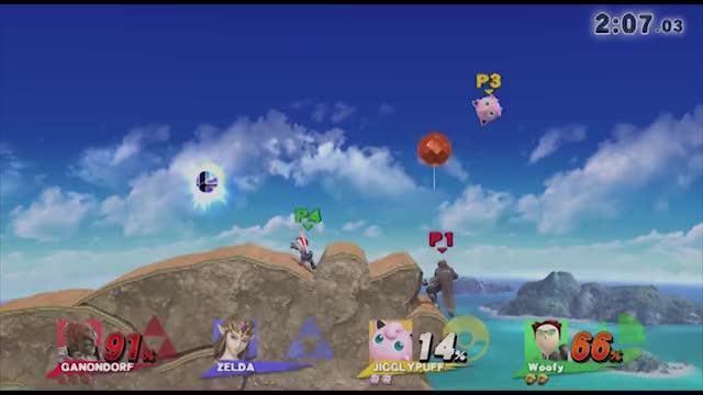 Thistle Jump(x3) Jigglypuff With The Hardest Bait on Ganondorf