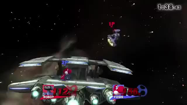 This is why you don't play on Lylat.