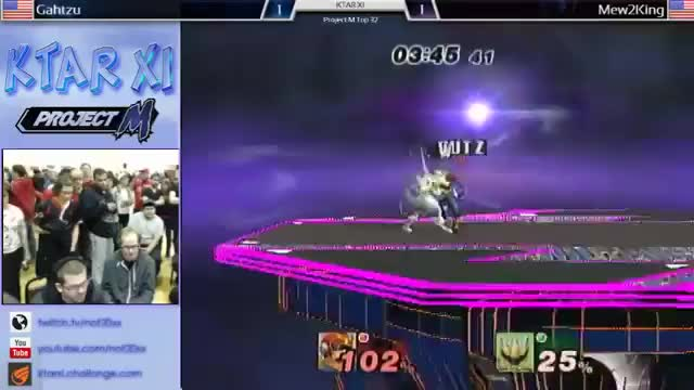 Gahtzu doesn't play Project M, but he does play Falcon