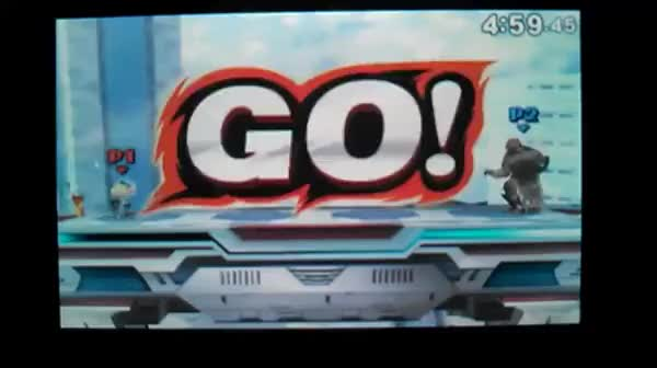 Ganondorf chumped from 0%… by Olimar