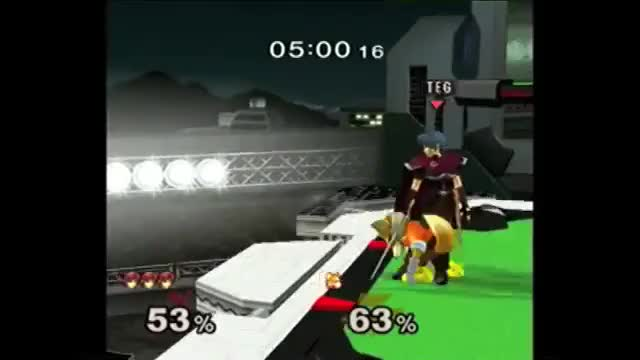 [Marth] Great match-ending sequence by JesiahTEG