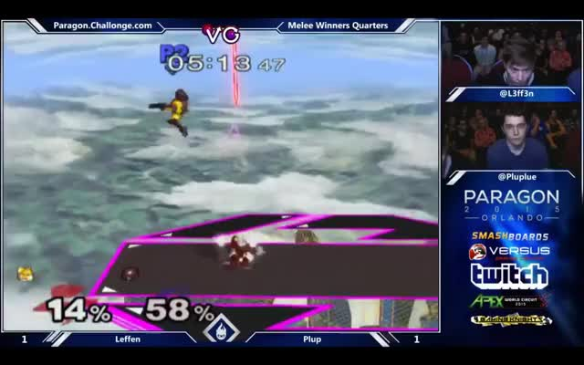 Plup destroys Leffen's final stock at Paragon 2015