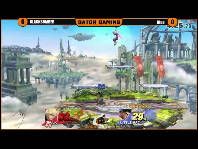 Little Mac's off-stage gimp game is real
