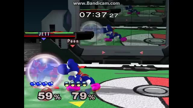 How to not finish a Yoshi edgeguard 101