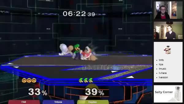Luigi really hates Nana.