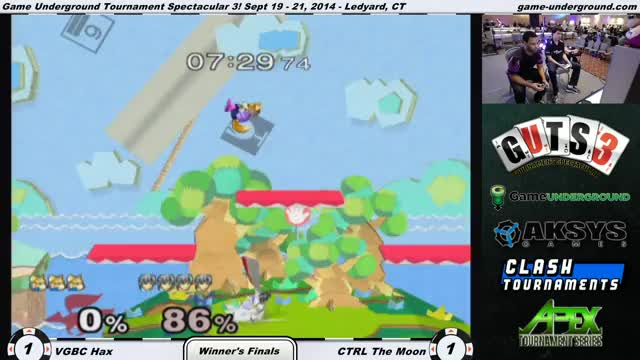 The Moon tries to stare down Hax