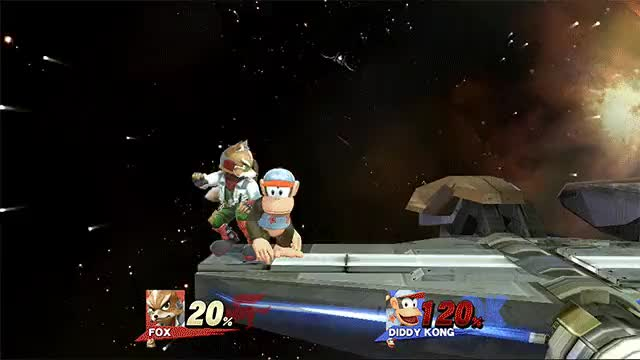"Custom Combo of the Day #2: ""I can't let you downthrow that, Diddy Kong"""