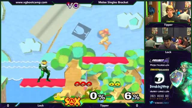 Baits and Tech Chase using Samus' extended grapple by Lock