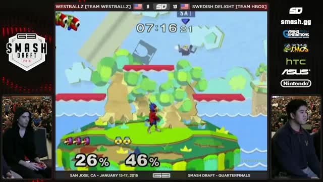 That up smash finish though.