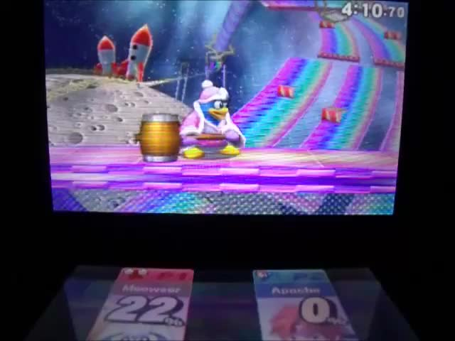 I've never pulled off one of these on purpose before. Dedede is so fun.