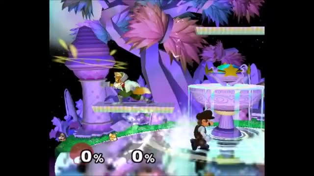 Mario can recover from deep with an up-b walljump