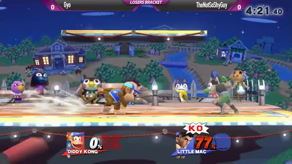This Diddy player's death stare is pretty warranted.