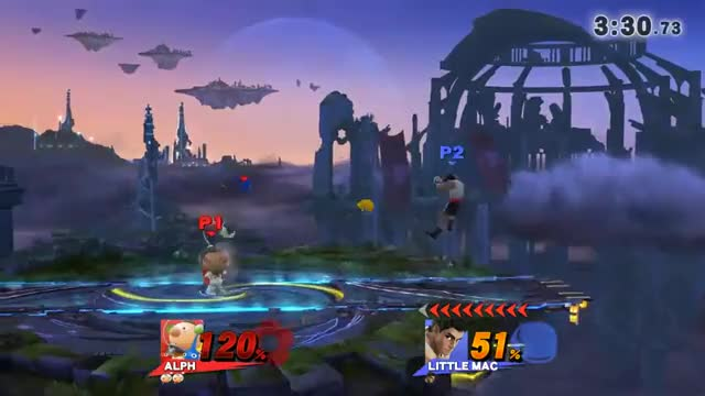 Alph d-tilt vs KO punch