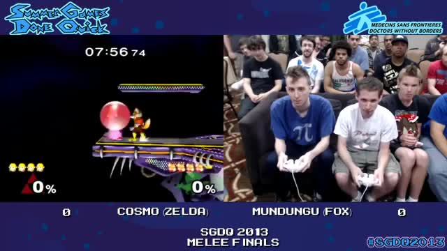 Cosmo(Zelda) shows that speedrunning isn't the only thing he's good at