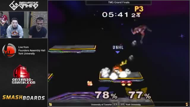 EMG Presents: The (╯°□°)╯︵ ┻━┻ Combo from the Canada Melee Games Finals